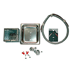 APW Wyott 55346-PK Electrical Code Kit -36 in (includes bezel, conduit, junction box)