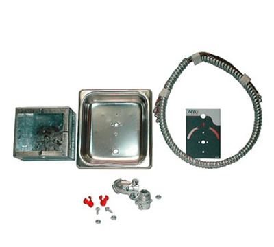 "APW 55346-PK Electrical Code Kit -36""(includes bezel, conduit, junction box)"