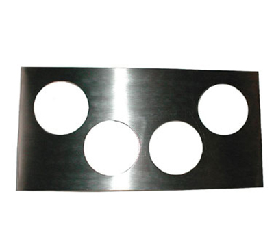 APW 56640 Adapter Plate with four 4 qt. inset holes Restaurant Supply