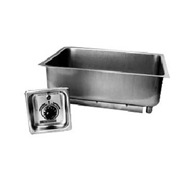 "APW BM-30 Built In Hot Food Well, 12 x 20"" Pan, Stainless, 208 V"