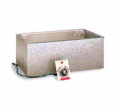 APW Wyott BM-80D Built In Hot Food Well, Drain, 12 x 20-in Pan, Insulated, 208 V