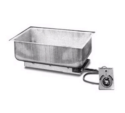 Apw Wyott BM-30D Built In Hot Food Well, Drain, 12 x 20-in Pan, Stainless, 120 V