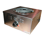 APW CHP-1A Heavy Duty Hot Plate w/ Spiral Element & Infinite Control