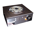 APW Wyott CP-1A Portable Electric Hot Plate w/ Spiral Element, 120 V