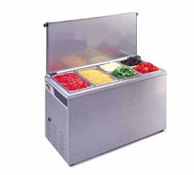 APW Wyott CTCW-43 Portable Counter Top Cold Well, 12 x 27-in Pan Opening, 120 V