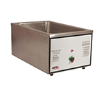 APW CWM-2V Full Size Food Cooker/Warmer, 22 Qt, Wet or Dry, Stainless, 120 V