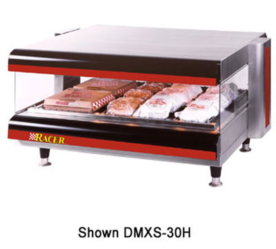 APW DMXS-54S 54 in Racer Slanted Merchandiser/Warmer 1 Shelf Restaurant Supply