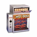 APW Wyott DR-2A Hot Dog Broiler, Bun Warmer, 150-Franks/Hr, 36-Buns, 240 V