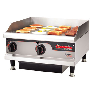 "Apw Wyott EG-36I 36"" Griddle - 1"" Steel Plate, Thermostatic Control, 240v"