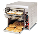 "APW FT-1000H Conveyor Toaster - 1000-Slices/hr w/ 3"" Product Opening, 240v/1ph"