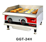 "APW GGT36ICE 36"" Griddle - 1"" Steel Plate, Thermostatic Control, Export, NG"