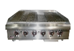 Apw Wyott HCB-2436 36-in Radiant Char-Broiler w/ Cast Iron Grates, NG