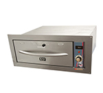APW HDDI-1B Built-In Warming Drawer w/ 1-Pan Capacity, Thermostatic Controls, 120 V