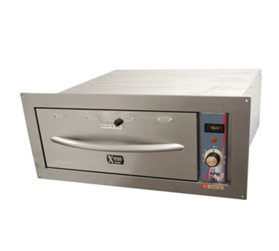 APW Wyott HDDI-2B Built-In Warming Drawer w/ 2-Pan Capacity, Thermostatic Controls, 120 V