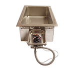 APW HFW-1D Drop-In Insulated Hot Food Well Unit, Wet or Dry, Drain, 240 V