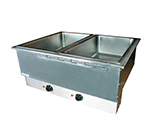 APW HFWAT-3D 3-Pan Drop In Hot Food Well, Drain & Attached Control, 208v/1ph