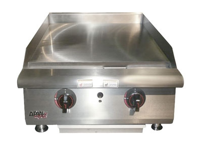 APW Wyott HTG-2460 60-in Griddle w/ 1-in Steel Plate, Snap Action Controls, NG