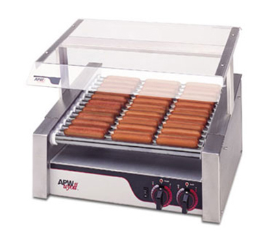 APW HR-31 30 Hot Dog Roller Grill - Flat Top, 120v