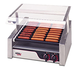 APW HRS-31S 30 Hot Dog Roller Grill - Slanted Top, 120v