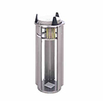 APW Wyott L-7 Lowerator Dish Dispenser, Drop In, One Tube, For Maximum Dish 7-1/4 in