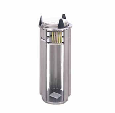 APW L-7 Lowerator Dish Dispenser, Drop In, One Tube, For Maximum Dish 7-1/4 in