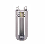 APW Wyott L-12A Adjustube II Dispenser, Plate, Open Frame Drop In Design