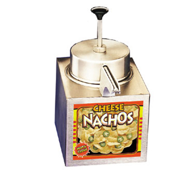 APW CCW Pump Nacho Cheese Warmer, For #10 Can, Stainless Steel, 120 V