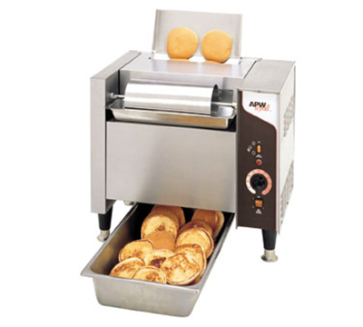 APW M-95-2 Vertical Toaster - 865-Bun Halves/hr w/ Butter Spreader, 240v/1ph