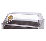 APW SG-45DD Sneeze Guard, Sloped Front, Dual Doors, For Hot Dog Grills Approx 25 x 31 in