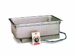 APW TM-90D Drop-in Food Warmer, 12 x 20-in Pan Opening & Drain, 120 V