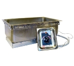 "APW TM-90D UL Drop-In Food Warmer w/ (1) 12x20"" Well, Wet/Dry, Thermostatic, 208v/1ph"
