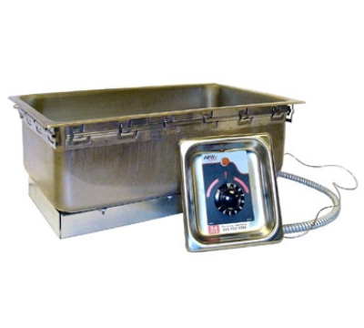 APW TM-90D UL 120 Drop-In Food Warmer w/ Drain & Wet Dry Operation, 750 W, 120 V