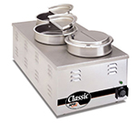 APW W-43V Food Warmer Holds (3) 1/3-Size Pans, 240 V