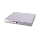 APW WS-2 24 in Free Standing Heated Shelf, Infinite Control, Stainless, 120 V