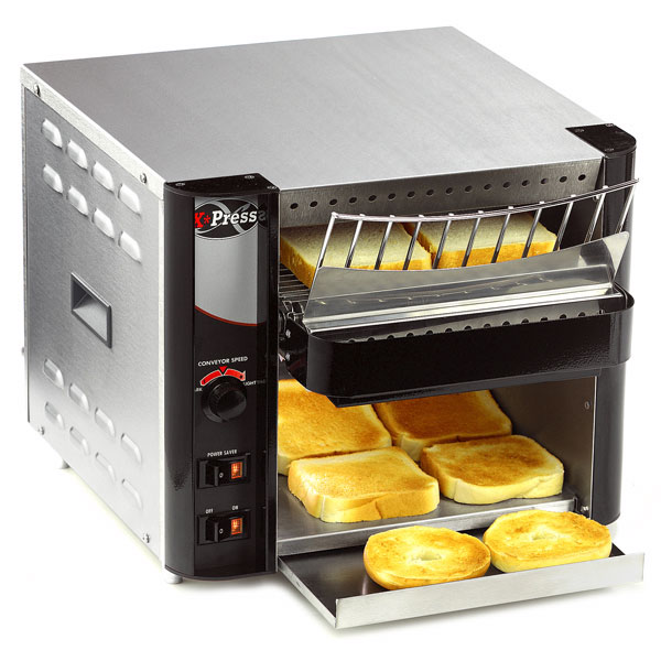 APW AT EXPRESS Conveyor Toaster, Variable Speed, 300 Units/Hr, 120 V