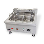 APW EF-30I Countertop Electric Fryer - (1) 30-lb Vat, 208v/1ph