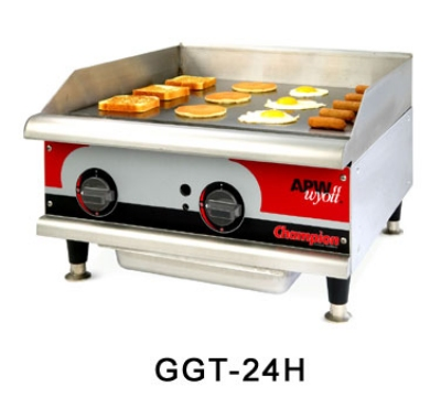 "APW GGT-36I 36"" Griddle - 1"" Steel Plate, Thermostatic Control, NG"