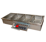 APW Wyott HFW-5D Drop-In Hot Food Well Unit w/ Drain &am