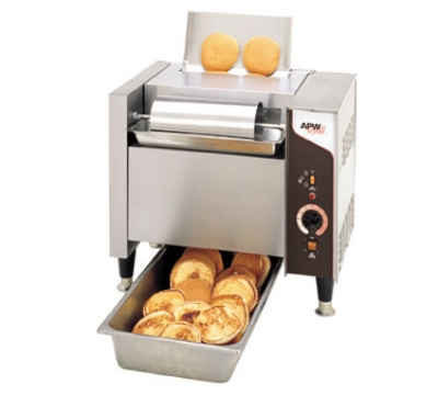 APW M-2000 Conveyor Bun Grill Toaster, High Speed, 1100 Units/Hr, 240 V