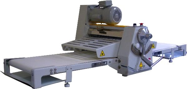 "Bakemax BMCRS02 Countertop Dough Sheeter, Reversible, 20-1/2"" X 67""Work Length"