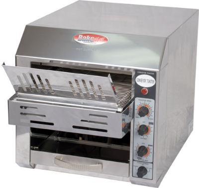 "Bakemax BMCT300 Conveyor Toaster - 360-Slices/hr w/ 2.5"" Product Opening, 110v"