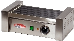 Bakemax BMHG001 8 Hot Dog Roller Grill - Flat Top, 110v