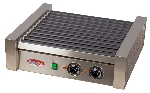 Bakemax BMHG004 20 Hot Dog Roller Grill - Flat Top, 110v