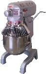 Bakemax BMPM020 20-Qt Planetary Mixer w/ 3-Speeds & 1/2-HP Motor, Attachments