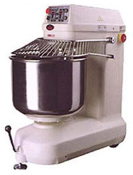 BakeMax BMSM120 190 Qt Spiral Mixer w/ SS Bowl, SS Spiral Agitator