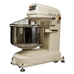 Bakemax BMSM280 Countertop Spiral Mixer - 620-lb Dough Capacity, 2-Speed, Stainless, 220v/3ph