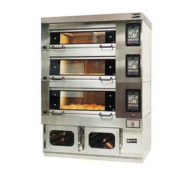 Doyon 2T-4 Quad Bakery Deck Oven, 220v/3ph