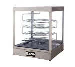 Doyon DRPR4S Warmer/Display Case For (4) 20-in Pizzas, Revolving Rack