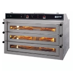 Doyon PIZ6G Triple Deck Countertop Pizza Oven, LP