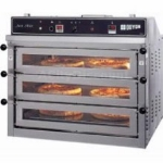 Doyon PIZ3 Triple Pizza Deck Oven, 120/208v/3ph
